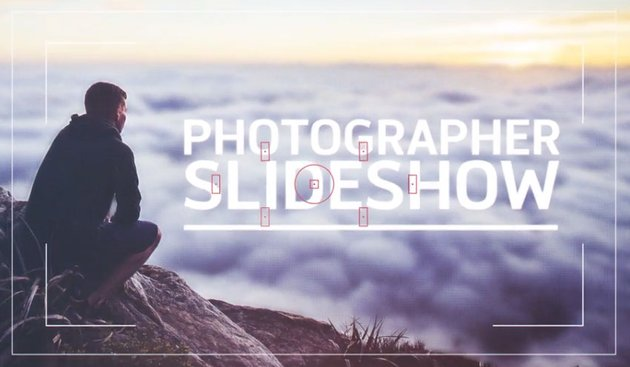 Modern Photographer Picture Slideshow Template
