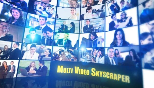Multi Video Skyscraper-Corporate Template