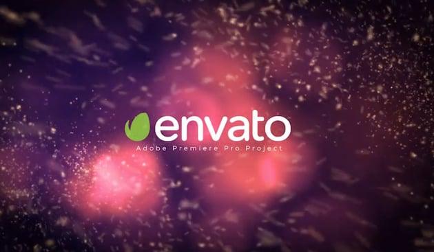 Particle Burst Logo Reveal Premiere Pro