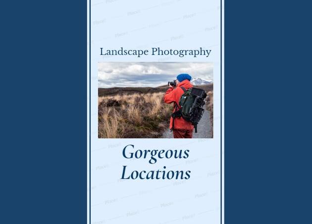 Landscape Photography Instagram Story Template
