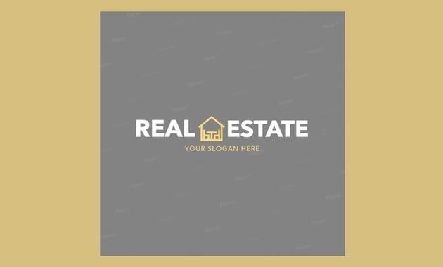 Simple Logo Maker for Real Estate Agents