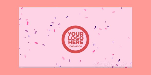 Text Animation Maker with Confetti Background