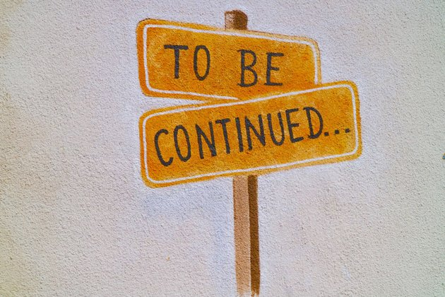 to be continued sign
