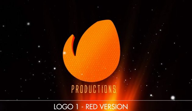 Cinematic Rays Logo  For Apple Motion