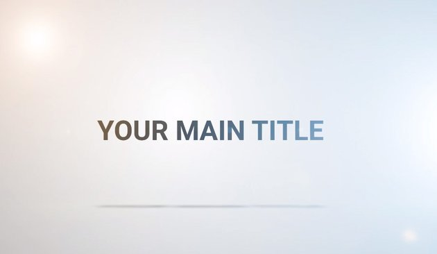 Clean Title Reveal  For Adobe Premiere Pro