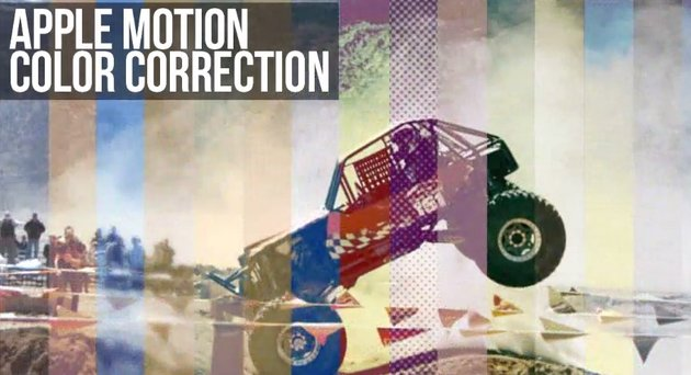 Color Correction Pack For Apple Motion