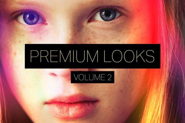 Premium Looks Photoshop Actions Vol 2