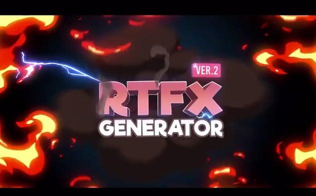 RTFX Generator 1000 FX elements