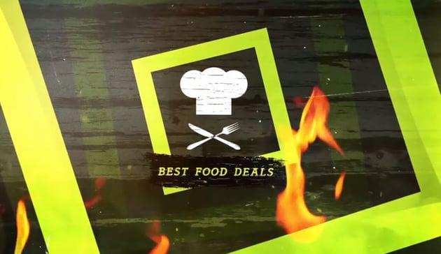 Food Deals Promo