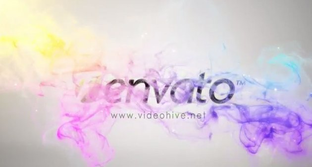 Colorful Particles Logo Reveal II