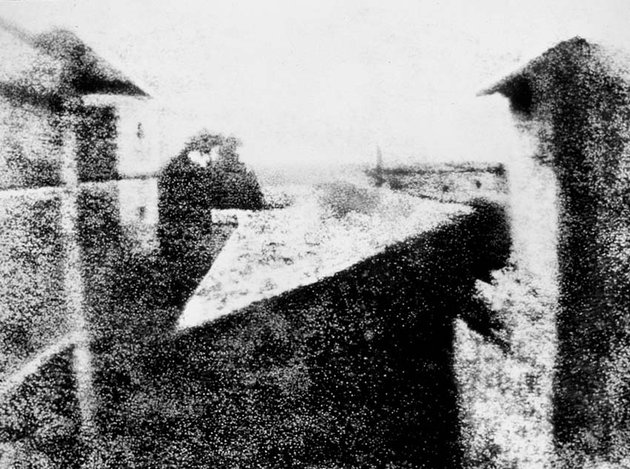 the first photo