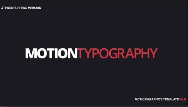 Dynamic Minimalism - Essential Graphics  Mogrt
