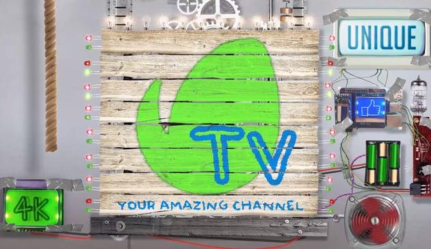DIY Creative Logo  Invention Technology Show