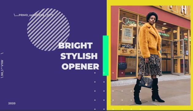 Bright Stylish Opener for Premiere Pro