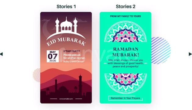 Ramadan Instagram Stories After Effects Template