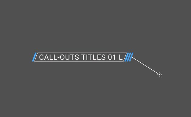 Free Left-Aligned Call-Out Banner Premiere Pro Template
