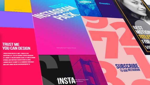 Instagram Graphics Pack Final Cut Pro