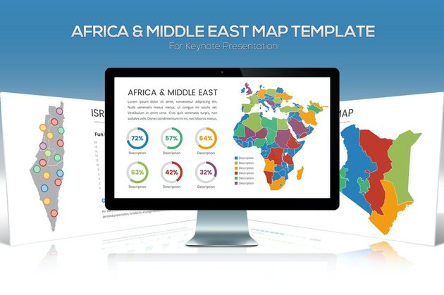Africa  Middle East Maps