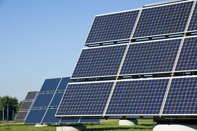 Solar energy panels - via Envato Elements