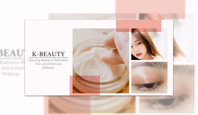 Product Catalog Video Maker for a Korean Beauty Products Shop