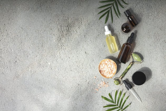 Natural SPA cosmetic products