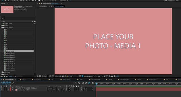 Add images and footage