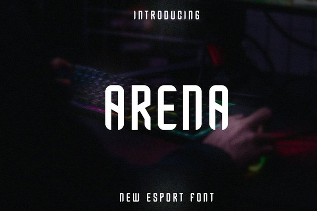 Arena Esport Font - from Envato Elements