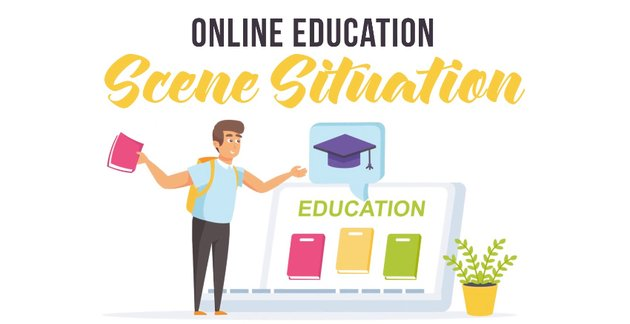 Online education - available from Envato Elements