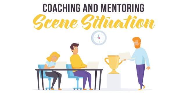 Coaching and mentoring - Available from Envato Elements