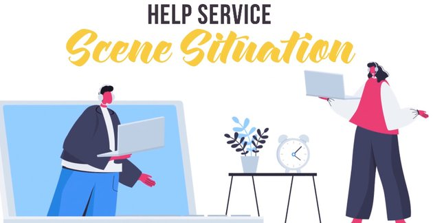Help service - Available from Envato Elements