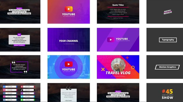 YouTube Essential Pack available from Envato Market