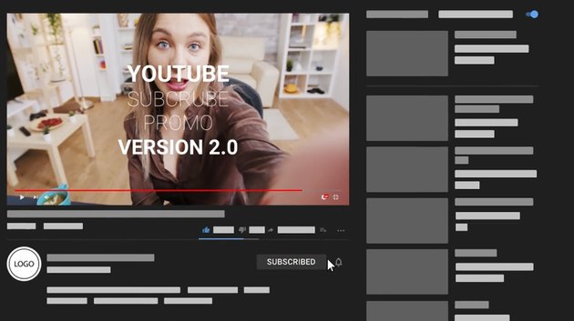 YouTube Subscribe Promo available from Envato Elements