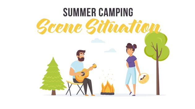 Summer Camping - available from Envato Elements