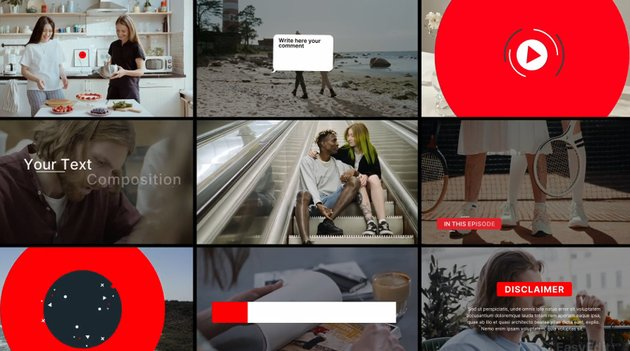 Youtube Essential Library - from Envato Elements
