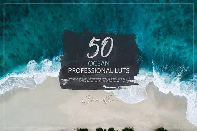 50 Ocean LUTs Pack