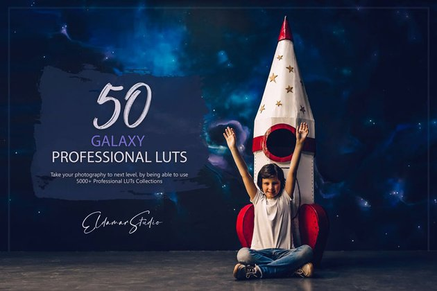 50 Galaxy LUTs Pack