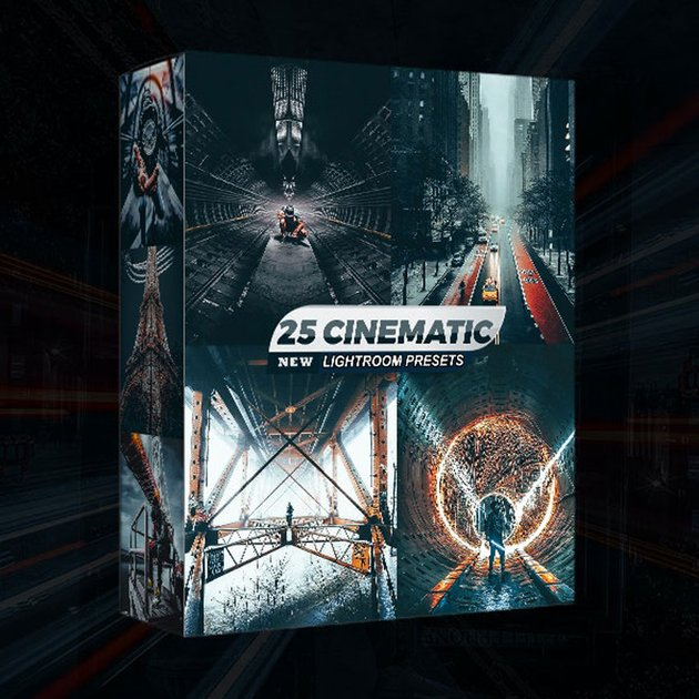 25 Cinematic Lightroom Presets
