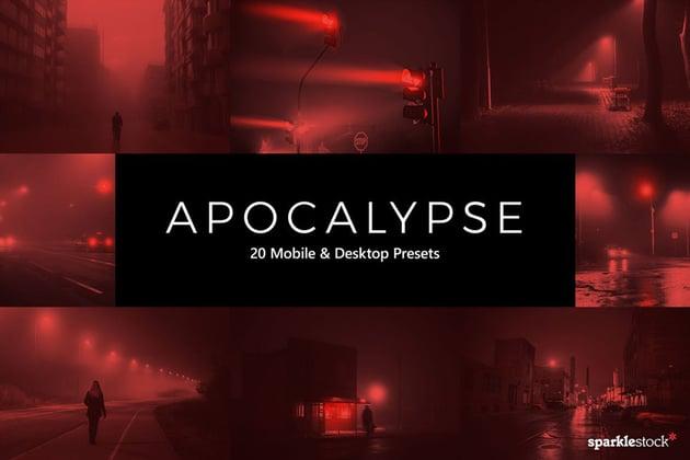 20 Apocalypse Lightroom Presets & LUTs