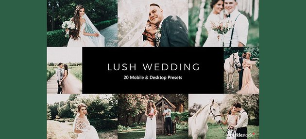10 Lush Wedding Lightroom Presets