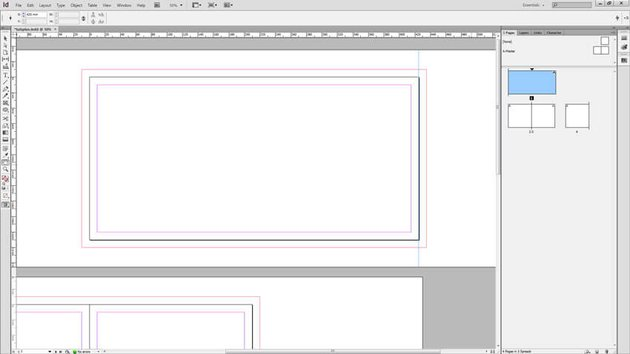 Custom Page Inside An InDesign Document