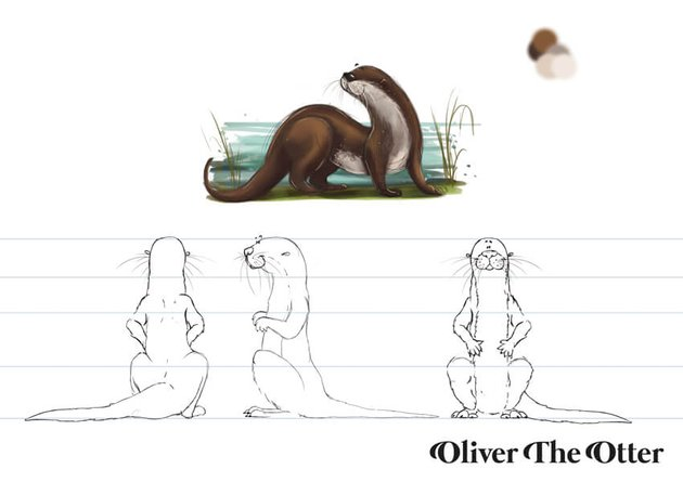 Oliver The Otter Character Sheet