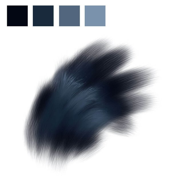 Chimpanzee Fur - Details