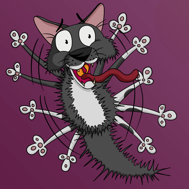 Pixel In The Style Of Courage - Shadows