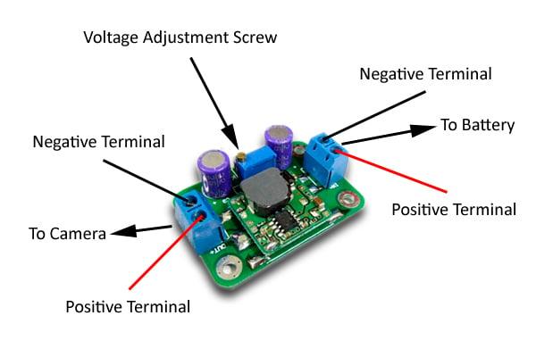Voltage regulator diagram