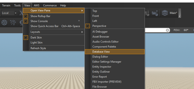 Database Editor