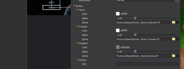 UI Editor - Button States