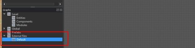 Add a new default graph node