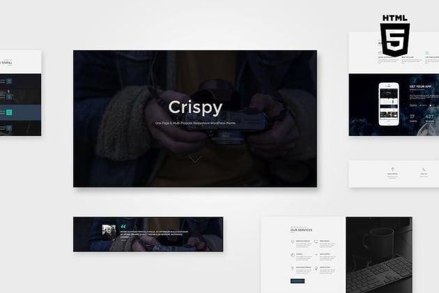Crispy One Multi Page HTML