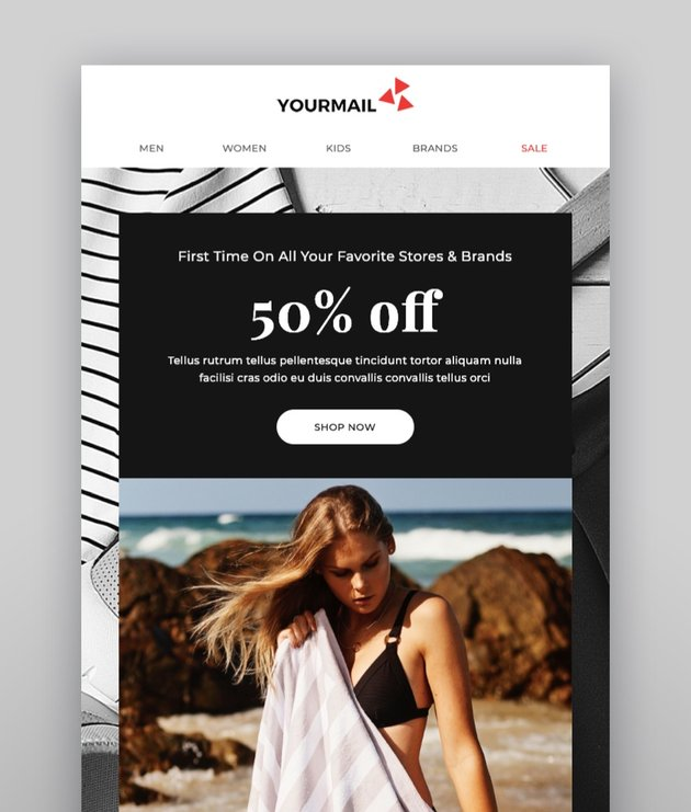 Yourmail - 21 High Converting Email Marketing Templates