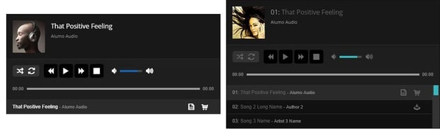 WordPress audio plugin demo
